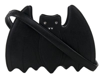GOTHIC BAT BLACK SHOULDER HANDBAG Pagan Alternative GOTHX Vegan Leather PU Bag