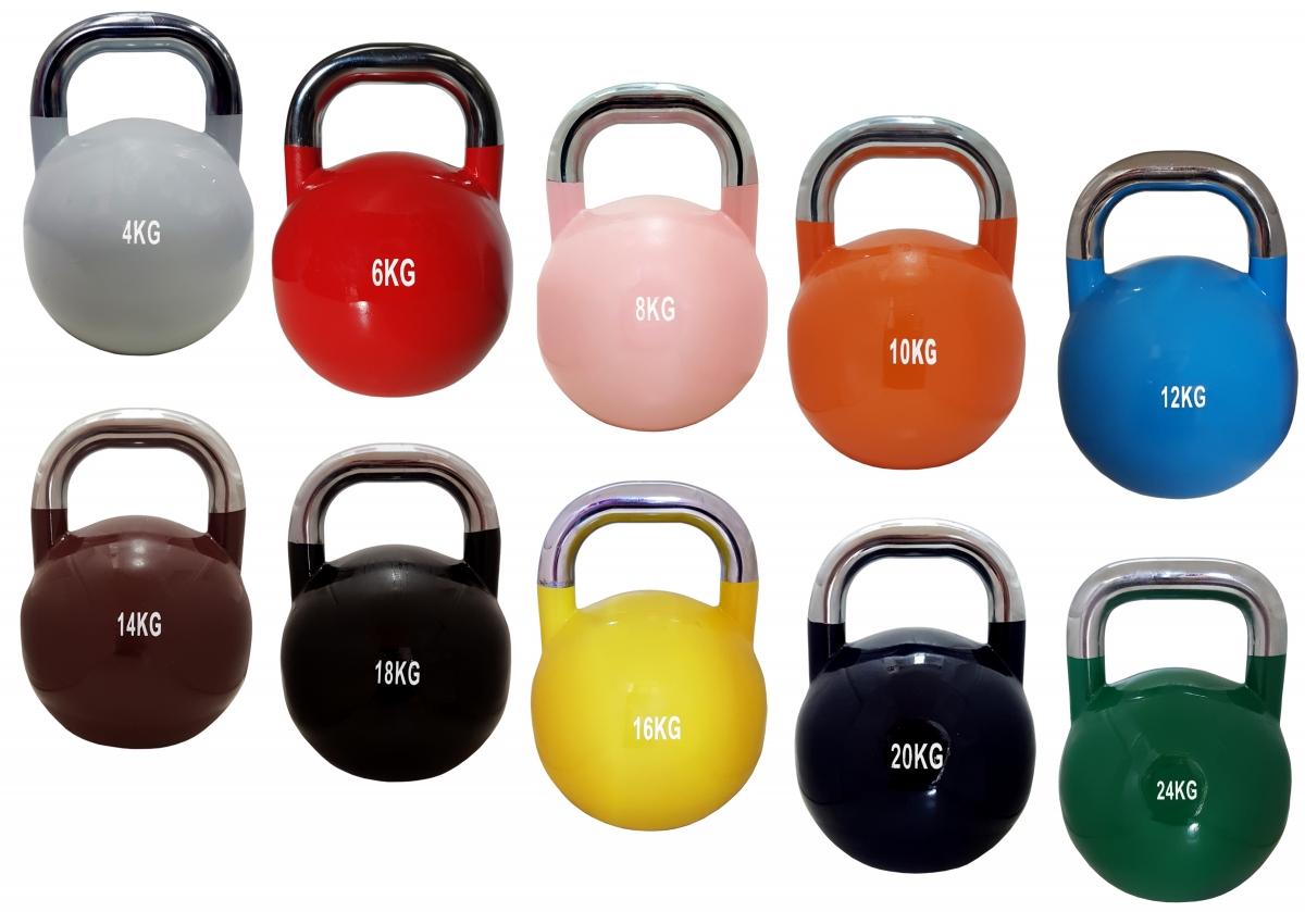DTX Fitness Kugelhantel Set Ablage Gewichte Kraftsport Training Schwunghantel