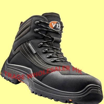 V12 CAIMAN V1501 sicurezza Hiker Stivali COMPOSITE NERO LEGGERO IMPERMEABILE