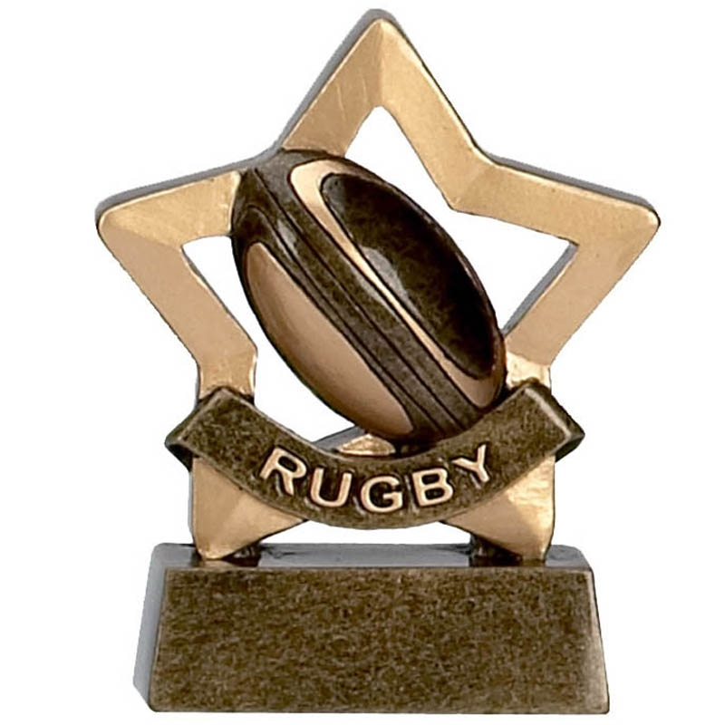 *10 x Football  Mini Stars Prize Award Trophy FREE ENGRAVING Player of the Week