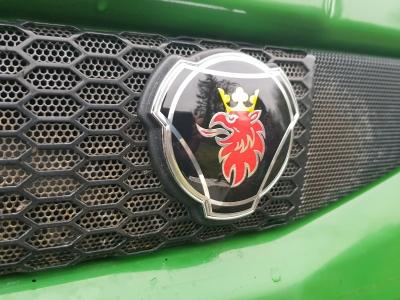 SCANIA CAMION ROSSO griglia Badge emblema V8 Topline Streamline NEXT GENERATION