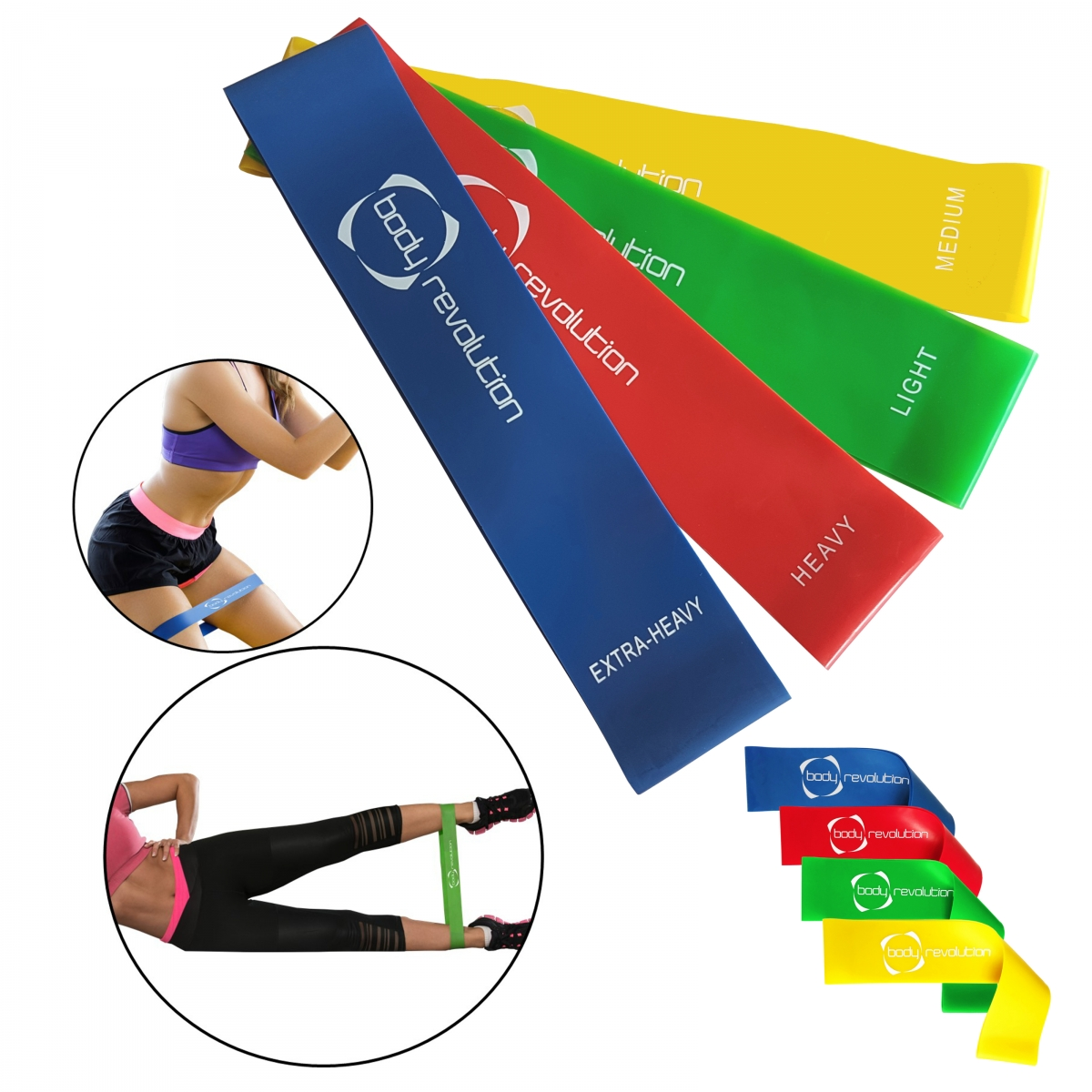 Bowflex Revolution Folded Up Dimensions: Exercise & Fitness Latex Loop Set For